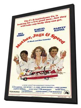 Mother, Jugs and Speed - 27 x 40 Movie Poster - Style A - in Deluxe Wood Frame