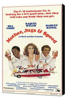 Mother, Jugs and Speed - 27 x 40 Movie Poster - Style A - Museum Wrapped Canvas