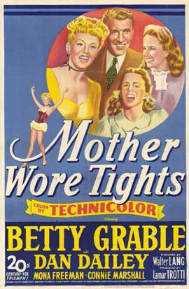 Mother Wore Tights - 11 x 17 Movie Poster - Style A