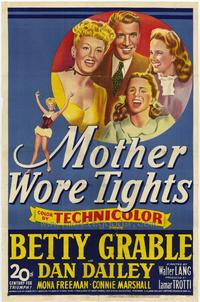 Mother Wore Tights - 27 x 40 Movie Poster - Style A