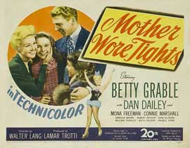 Mother Wore Tights - 11 x 14 Movie Poster - Style A