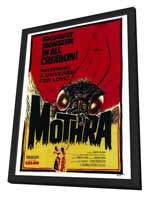 Mothra - 27 x 40 Movie Poster - Style A - in Deluxe Wood Frame