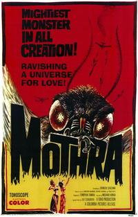 Mothra - 43 x 62 Movie Poster - Bus Shelter Style A