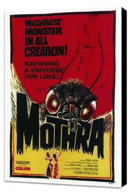 Mothra - 27 x 40 Movie Poster - Style A - Museum Wrapped Canvas