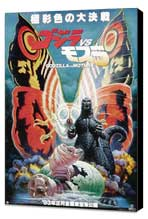 Mothra vs. Godzilla - 11 x 17 Movie Poster - Japanese Style A - Museum Wrapped Canvas