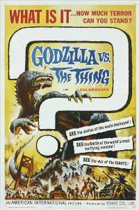 Mothra vs. Godzilla - 11 x 17 Movie Poster - Style A