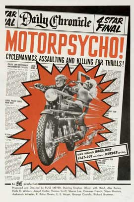 Motor Psycho - 11 x 17 Movie Poster - Style A