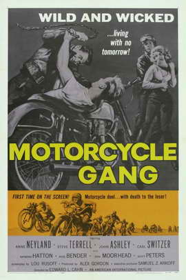 Motorcycle Gang - 11 x 17 Movie Poster - Style A