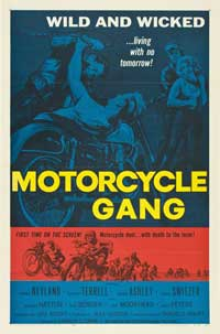 Motorcycle Gang - 11 x 17 Movie Poster - Style B