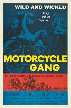 Motorcycle Gang - 27 x 40 Movie Poster - Style B