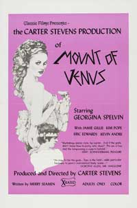 Mount of Venus - 27 x 40 Movie Poster - Style A