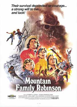 Mountain Family Robinson - 11 x 17 Movie Poster - Style A