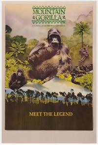 Mountain Gorilla (IMAX) - 43 x 62 Movie Poster - Bus Shelter Style A