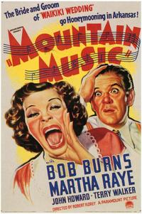 Mountain Music - 43 x 62 Movie Poster - Bus Shelter Style A