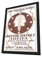 Mourning Becomes Electra (Broadway) - 14 x 22 Poster - Style A - in Deluxe Wood Frame