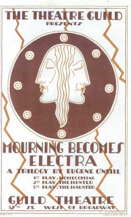 Mourning Becomes Electra (Broadway) - 14 x 22 Poster - Style A