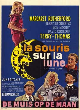 The Mouse on the Moon - 11 x 17 Movie Poster - Belgian Style A