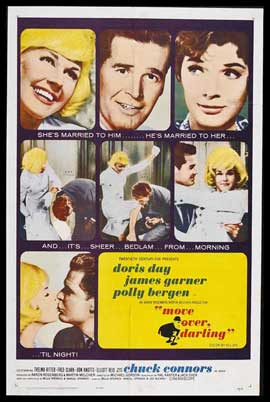 Move Over Darling - 27 x 40 Movie Poster - Style A
