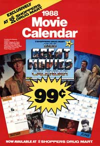 Movie Calendar - 43 x 62 Movie Poster - Bus Shelter Style A