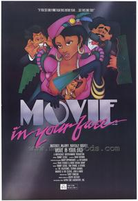 Movie . . . In Your Face - 11 x 17 Movie Poster - Style A