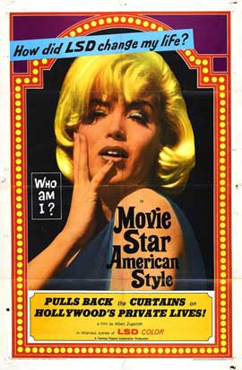 Movie Star, American Style or; LSD, I Hate You - 27 x 40 Movie Poster - Style A