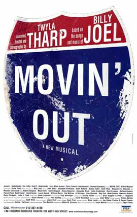 Movin' Out (Broadway) - 27 x 40 Poster - Style A