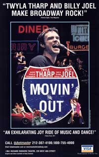 Movin' Out (Broadway) - 27 x 40 Poster - Style B