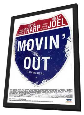 Movin' Out (Broadway) - 11 x 17 Poster - Style A - in Deluxe Wood Frame