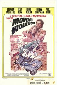 Moving Violation - 27 x 40 Movie Poster - Style B