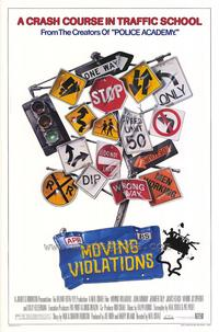 Moving Violations - 27 x 40 Movie Poster - Style A