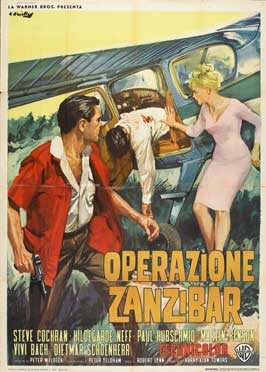 Mozambique - 27 x 40 Movie Poster - Italian Style B
