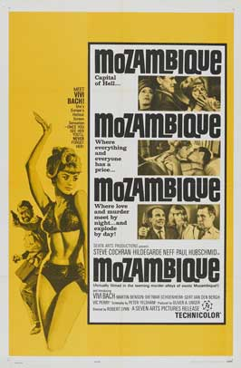 Mozambique - 11 x 17 Movie Poster - Style B