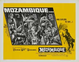 Mozambique - 11 x 14 Movie Poster - Style B