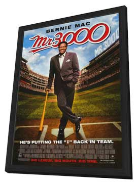 Mr. 3000 - 11 x 17 Movie Poster - Style A - in Deluxe Wood Frame