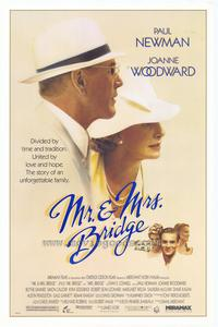 Mr. & Mrs. Bridge - 11 x 17 Movie Poster - Style A