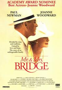 Mr. & Mrs. Bridge - 11 x 17 Movie Poster - Style B