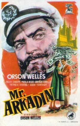 Mr. Arkadin - 11 x 17 Movie Poster - Style B
