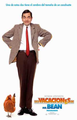 Mr. Bean's Holiday - 11 x 17 Movie Poster - Spanish Style A