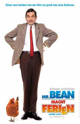 Mr. Bean's Holiday - 11 x 17 Movie Poster - German Style A