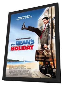 Mr. Bean's Holiday - 27 x 40 Movie Poster - Style A - in Deluxe Wood Frame