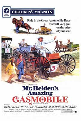 Mr. Beldens Amazing Gasmobile - 27 x 40 Movie Poster - Style A