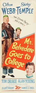 Mr. Belvedere Goes to College - 14 x 36 Movie Poster - Insert Style A