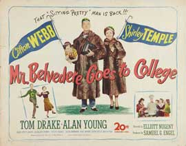 Mr. Belvedere Goes to College - 22 x 28 Movie Poster - Half Sheet Style A