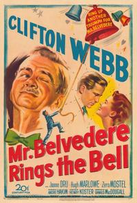 Mr. Belvedere Rings the Bell - 27 x 40 Movie Poster - Style A