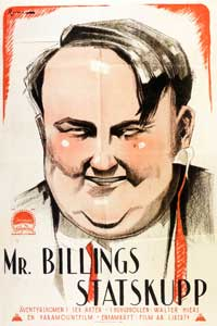 Mr. Billings Spends His Dime - 11 x 17 Movie Poster - Swedish Style A