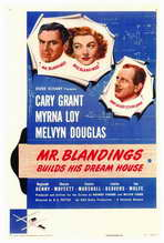 Mr. Blandings Builds His Dream House - 27 x 40 Movie Poster - Style A