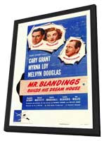 Mr. Blandings Builds His Dream House - 27 x 40 Movie Poster - Style A - in Deluxe Wood Frame