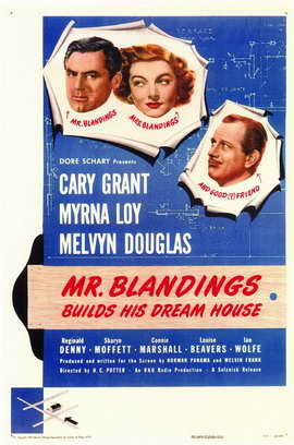 Mr. Blandings Builds His Dream House - 11 x 17 Movie Poster - Style A