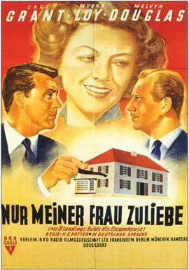 Mr. Blandings Builds His Dream House - 11 x 17 Movie Poster - German Style A
