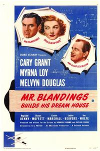 Mr. Blandings Builds His Dream House - 43 x 62 Movie Poster - Bus Shelter Style A